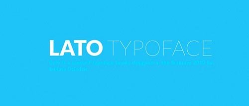 webfonts google lato