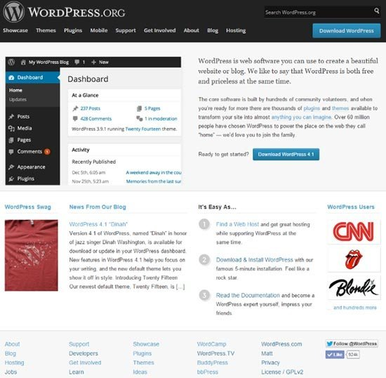 wordpress cms Perbandingan WordPress Joomla