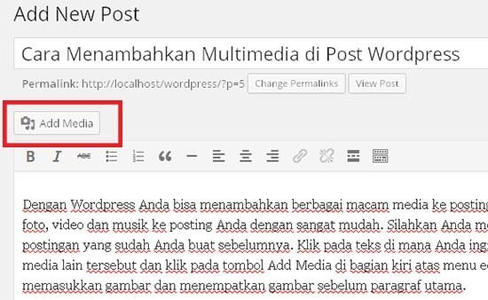 cara menambah media ke wordpress2