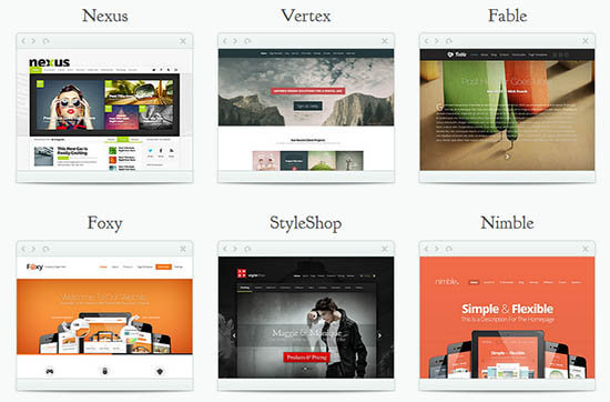 direktori themes elegant membuat blog WordPress
