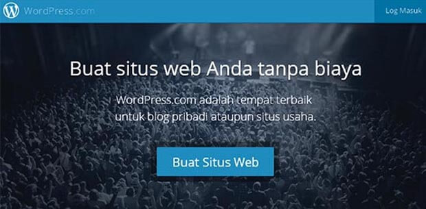 membuat blog gratis wordpress