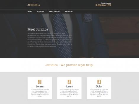 theme wordpress juridica responsive