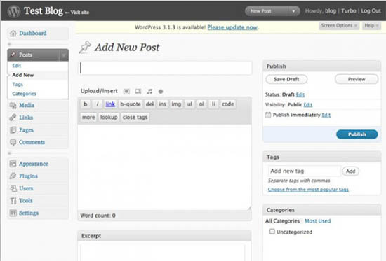 WordPress-2.7