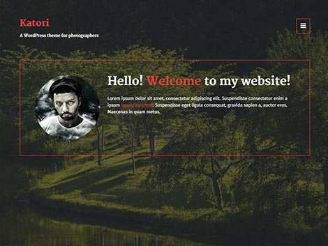 theme wordpress katori fotografer