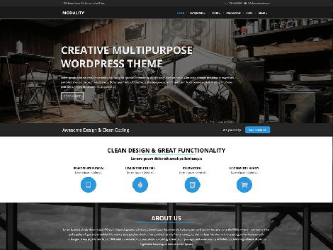 theme wordpress modality free