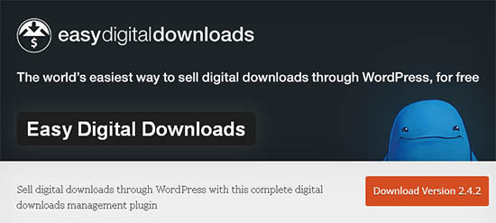 easy digital download wordpress