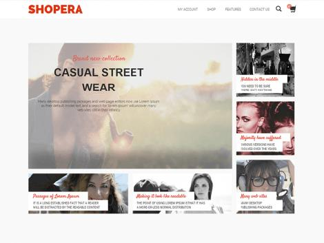 theme wordpress shopera responsive free