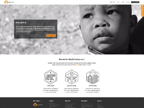 theme wordpress maisha lite responsive