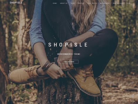 Theme WordPress Shopisle woocommerce free