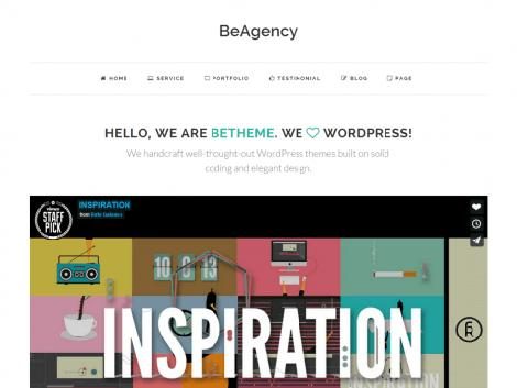theme wordpress beagency free download