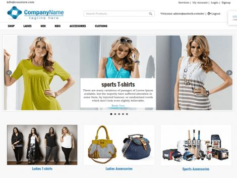 theme wordpress glassyshop