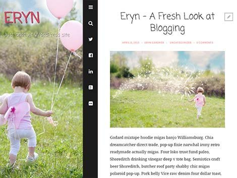 theme wordpress eryn responsive free