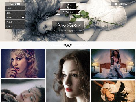 theme wordpress photo perfect