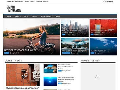 theme wordpress smart magazine