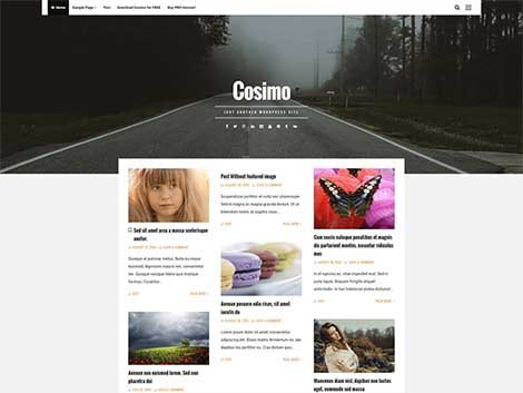 theme wordpress casimo responsive free