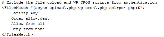 exclude wp cron