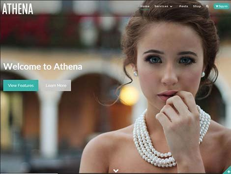 theme wordpress athena responsive free