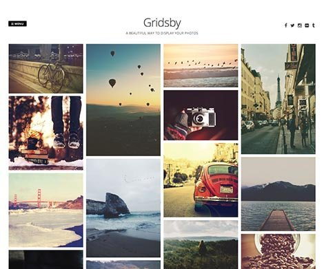 theme wordpress gridsby free