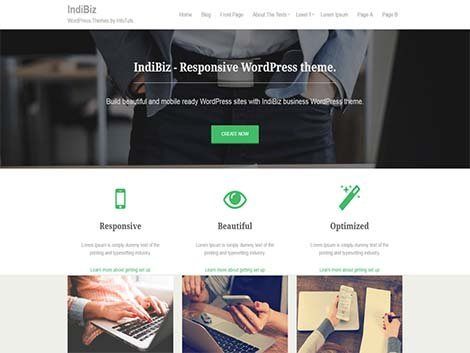 theme wordpress indibiz responsive free