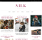 theme wordpress silk free blog