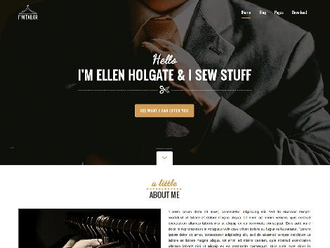 theme wordpress tailor responsive free