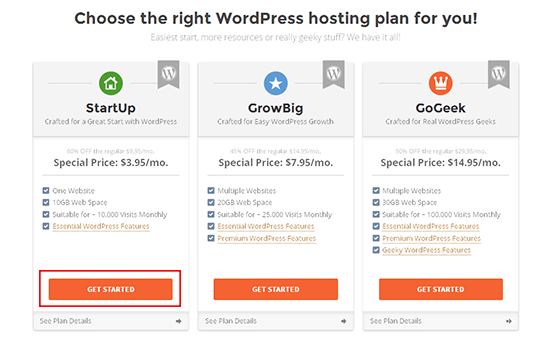 daftar hosting siteground wordpress