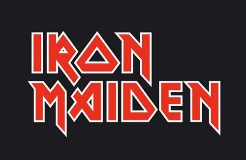 iron-maiden logo band