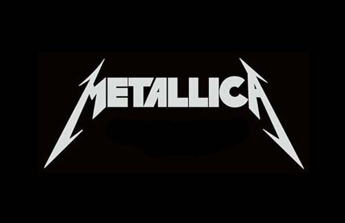 metallica logo band