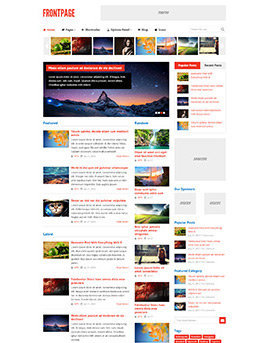 tema FrontPage