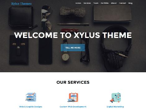 theme wordpress XT Corporate lite wordpress