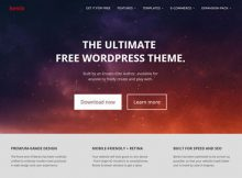 Theme Wordpress Free Bento