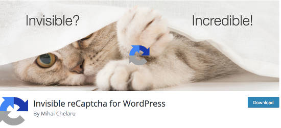 Invisible reCaptcha WordPress