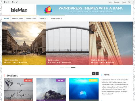 theme wordpress Islemag responsive free