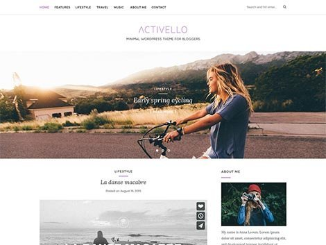 theme wordpress activello responsive free