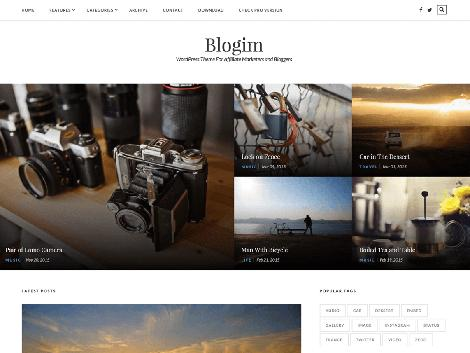 theme wordpress blogim responsive free