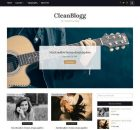 theme wordpress cleanblog free