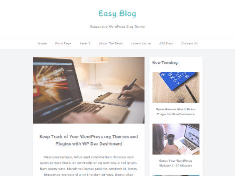 theme wordpress easyblog responsive
