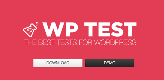 wp test theme