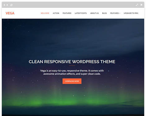 vega-free-wordpress-theme
