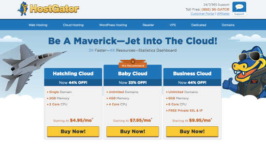 cloud hosting hostgator