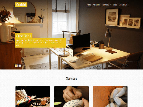 theme-wordpress-onefold-responsive-free