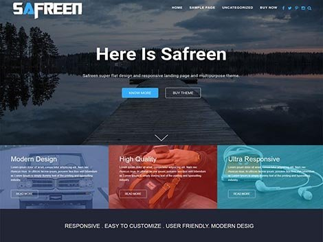 theme-wordpress-safreen-responsive-free