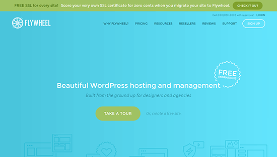 flywheel hosting wordpress
