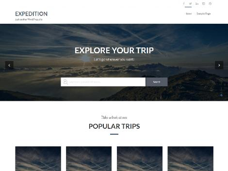 theme-wordpress-expedition-free