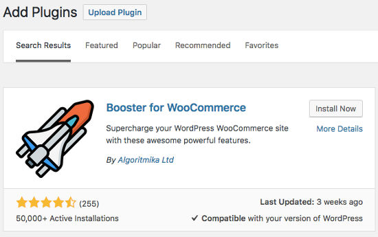 Bosster For WooCommerce Install