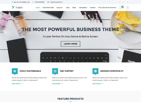 Theme WordPress Flash Responsive Free