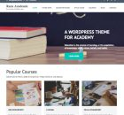 Theme WordPress Rara Academic