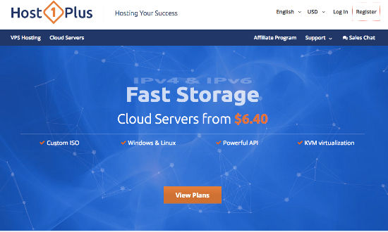 Host1Plus Cloud and VPS Hosting
