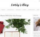 Everly Theme WordPress Free