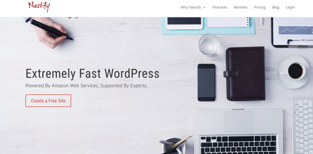 Nestify WordPress Hosting